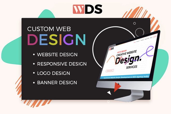 custom webdesign company in india
