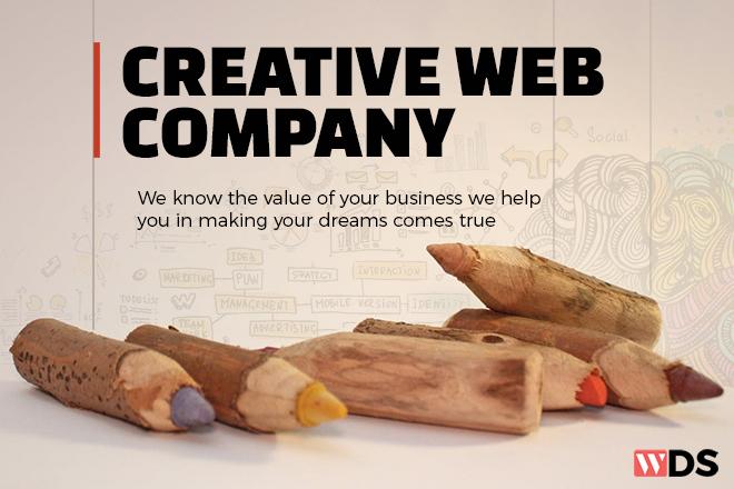 Creative web design company India